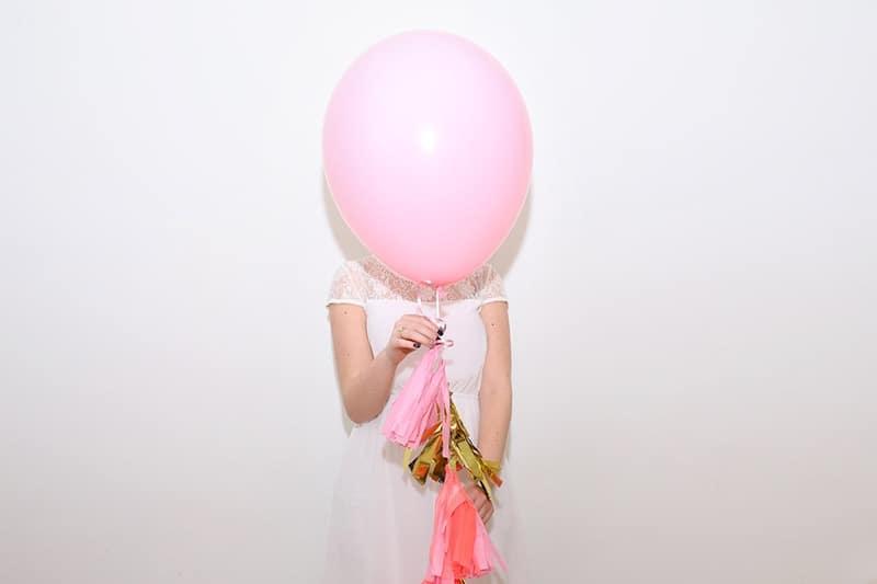 Tassel balloon
