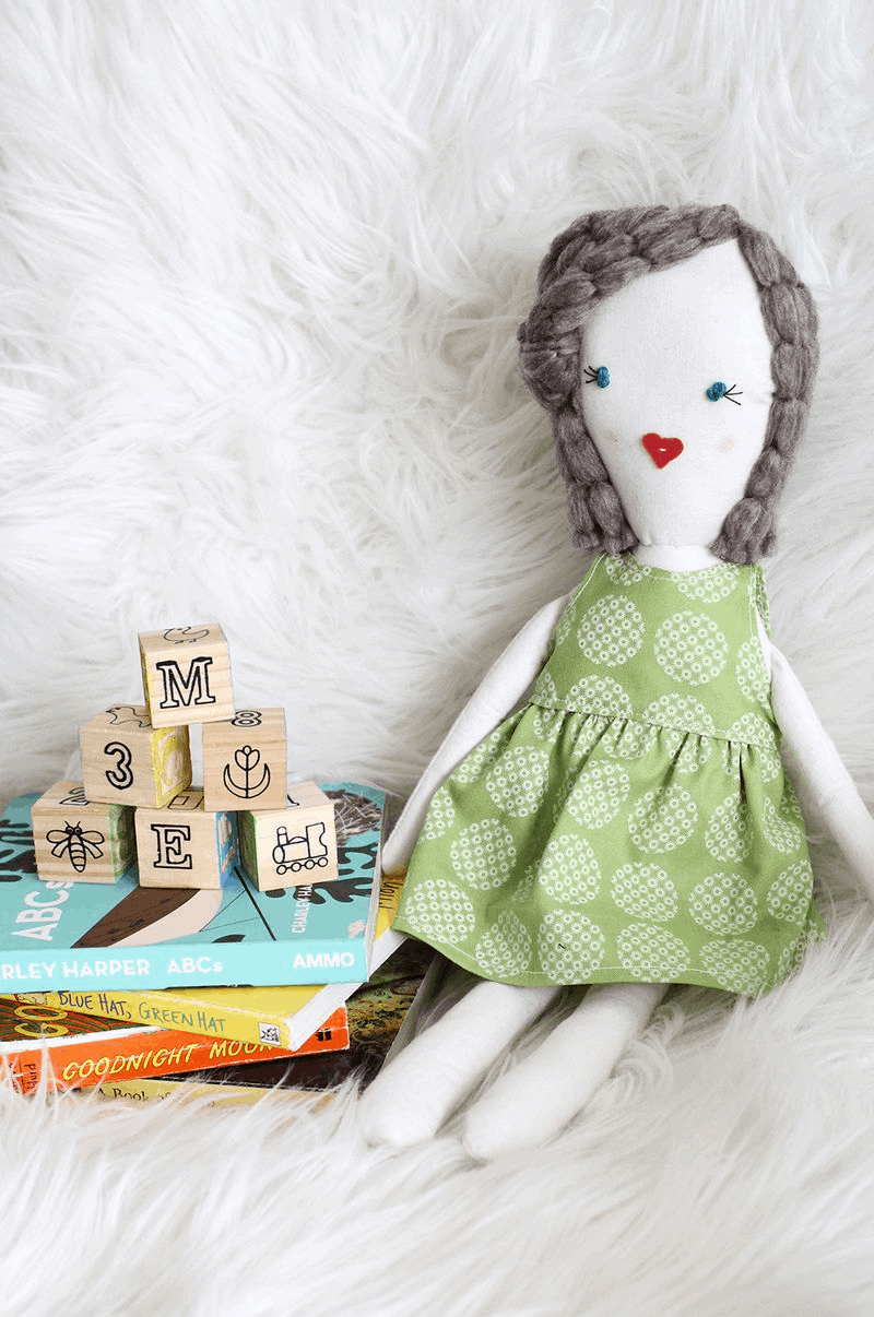 14 Ultra Cute Homemade Rag Doll Tutorials