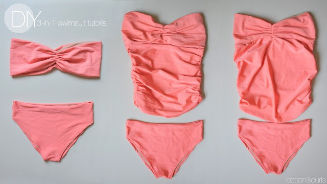 Summer Sizzle: 15 Cute DIY Bathing Suit Alterations