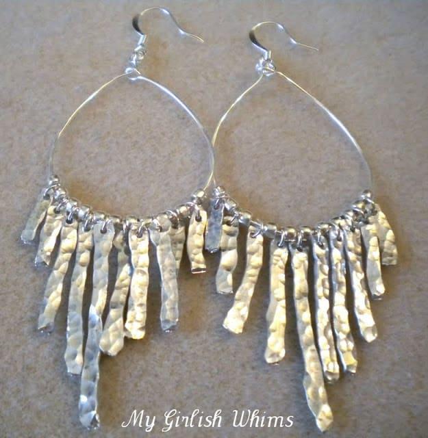 Anthropologie inspired hammered metal earrings.png