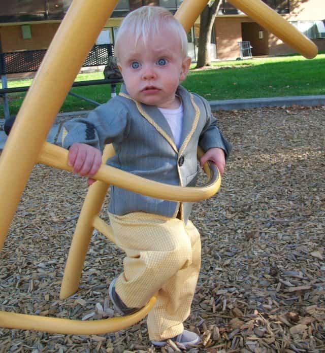 Baby boy suit jacket