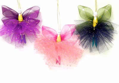 Clothespi fairy ornaments