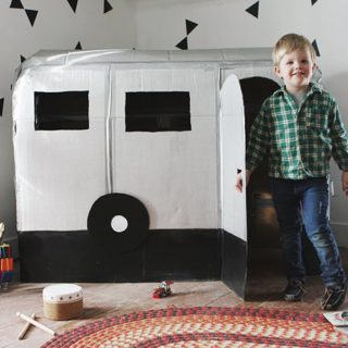 Fun Way to Recycle: 13 Cardboard Box DIYs for Kids