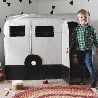 Fun Way to Recycle: 13 Cardboard Box DIYs for Kids