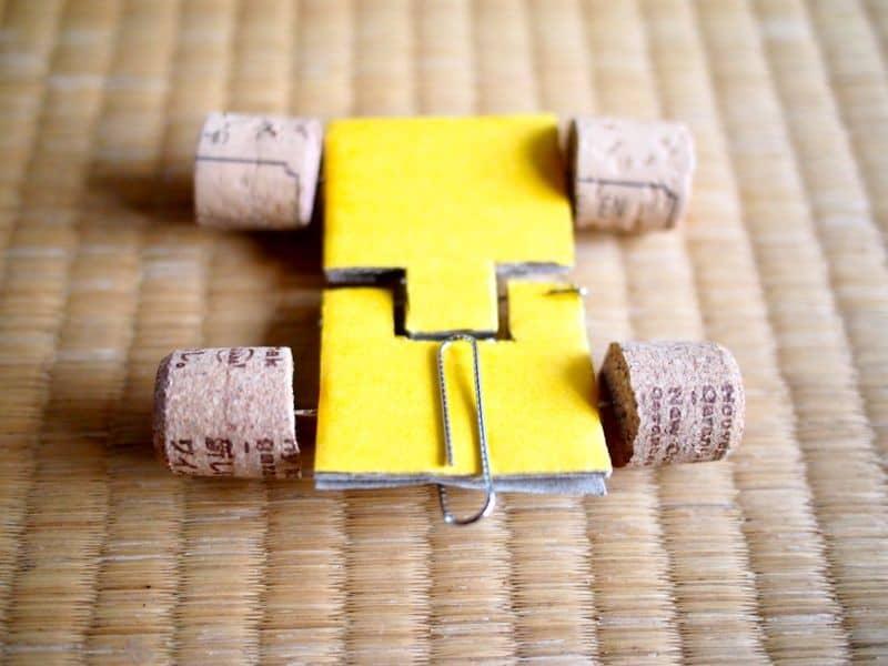 DIY cardboard flip car
