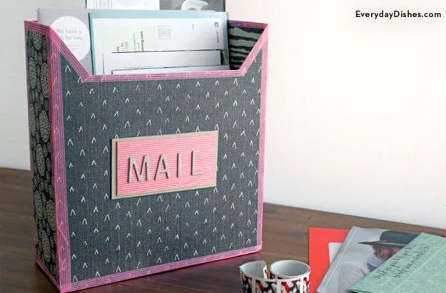 Exclusive and welcoming diy mailbox ideas 9 easy cereal mailbox solutioingenieria Images