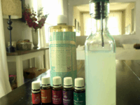 Essential oil dog shampoo  200x150 12 DIY Dog Shampoos for Soft and Healthy Fur