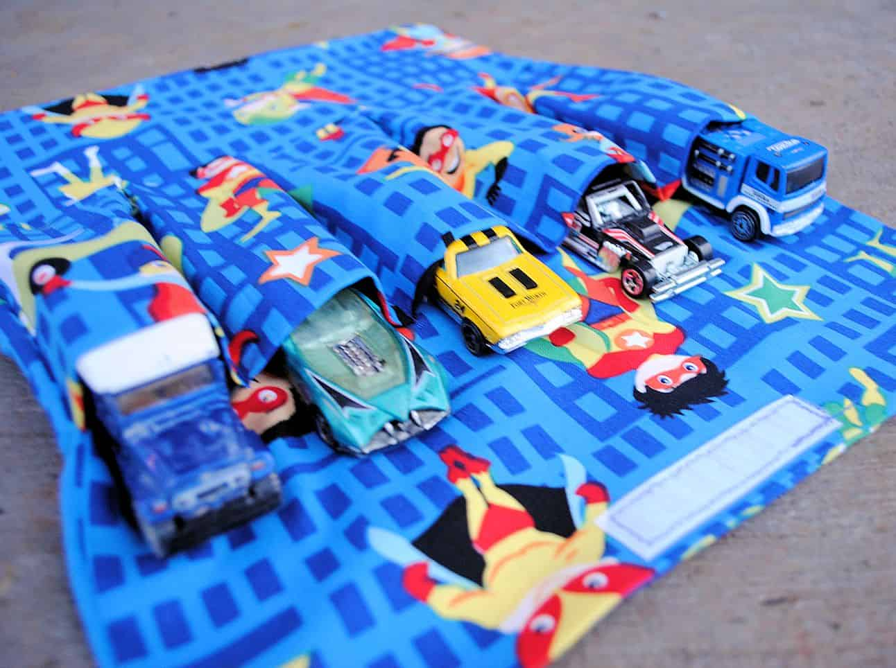 Fabric car carrier