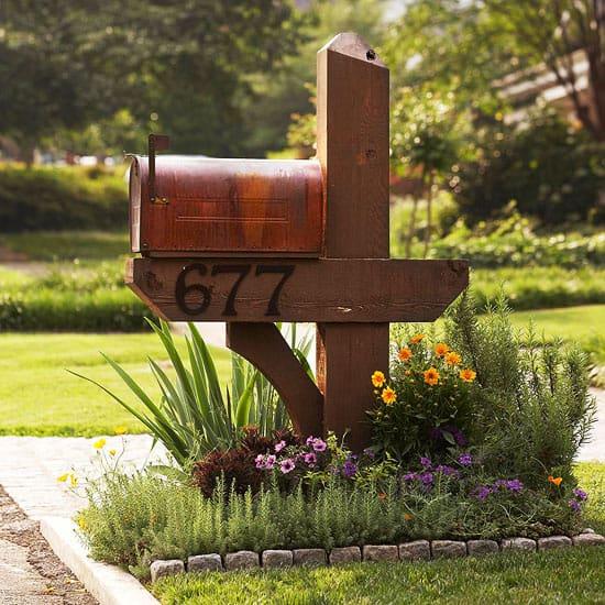 3 Mailbox Garden