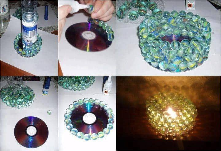 Top Colorful and Creative Crafts Using Marbles GA01