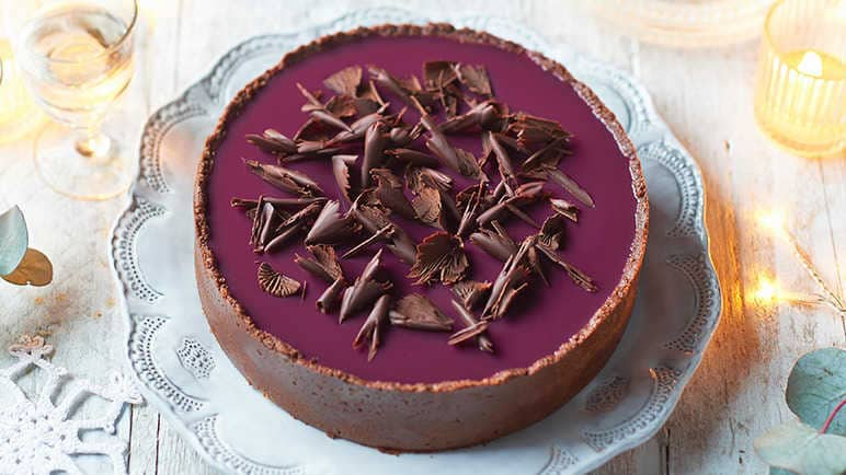 Mulled wine cheescake
