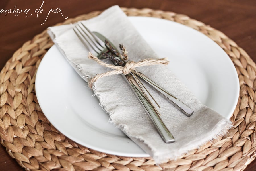 The Beauty and Elegance of DIY Cloth Napkins