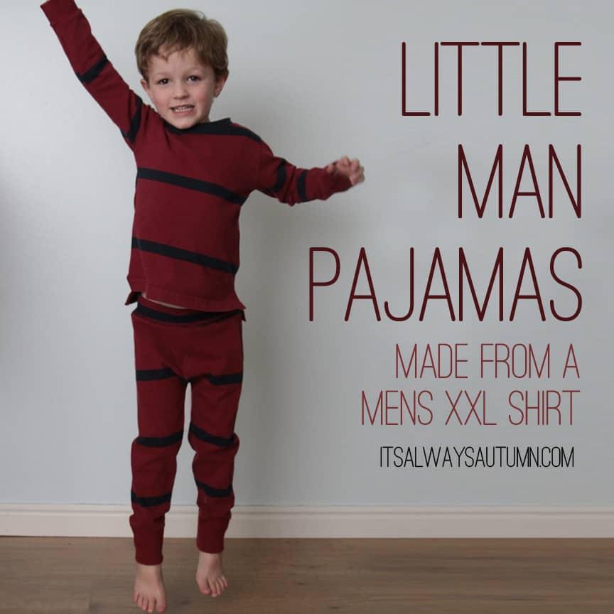 Pajamas from an XXL shirt