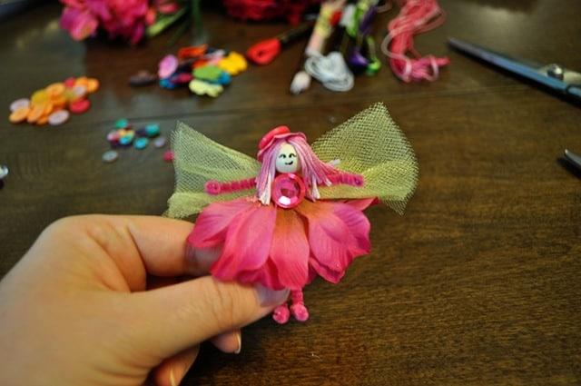 Petal skirt fairy dolls