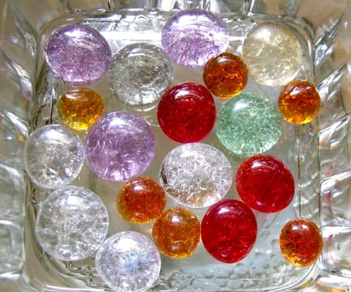 Colorful And Creative Crafts Using Marbles