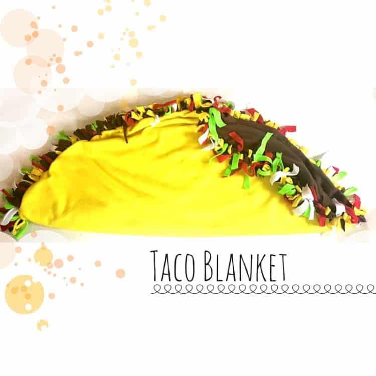 Taco blanket