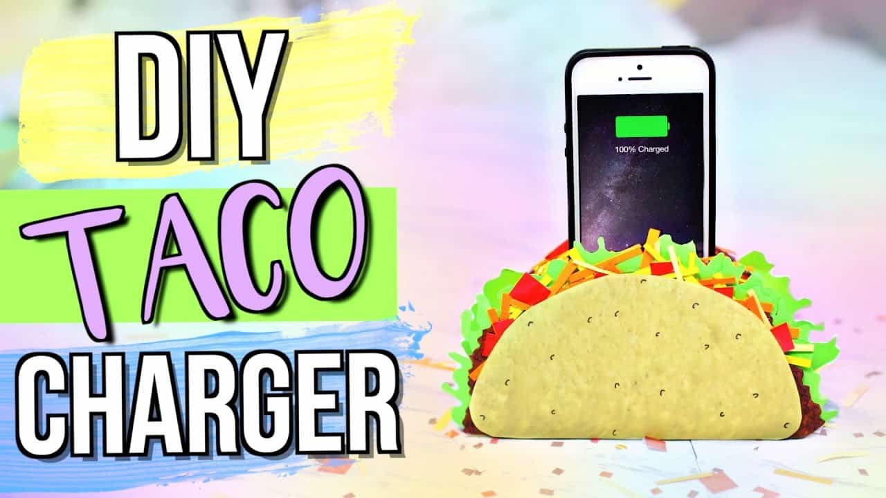 Taco phone charger