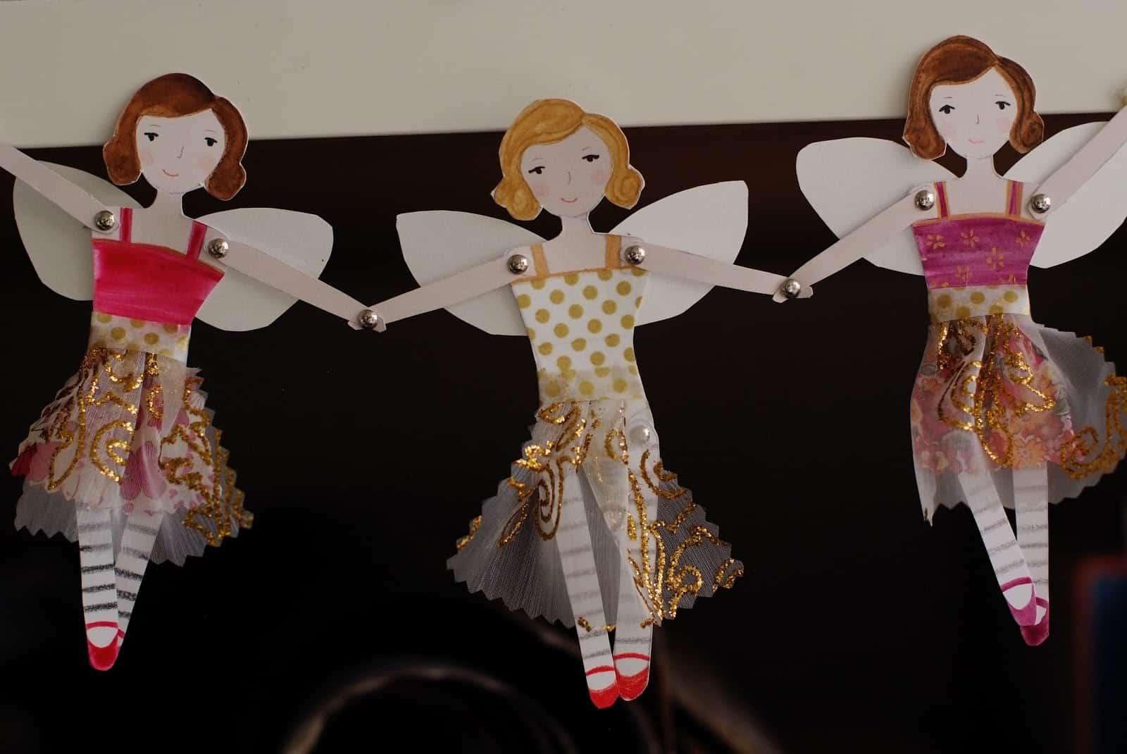 linked fairy garland
