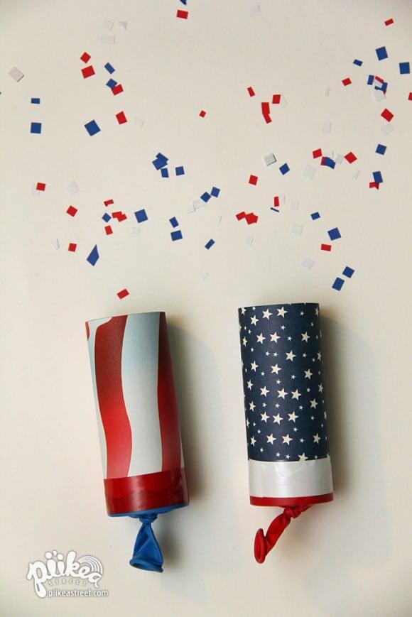 American confetti poppers