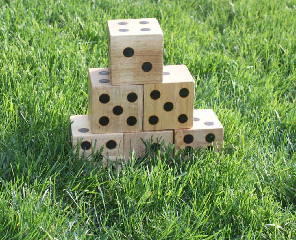 Backyard dice