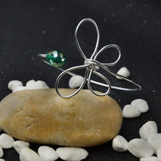 Metallic Elegance: DIY Wire Bracelets