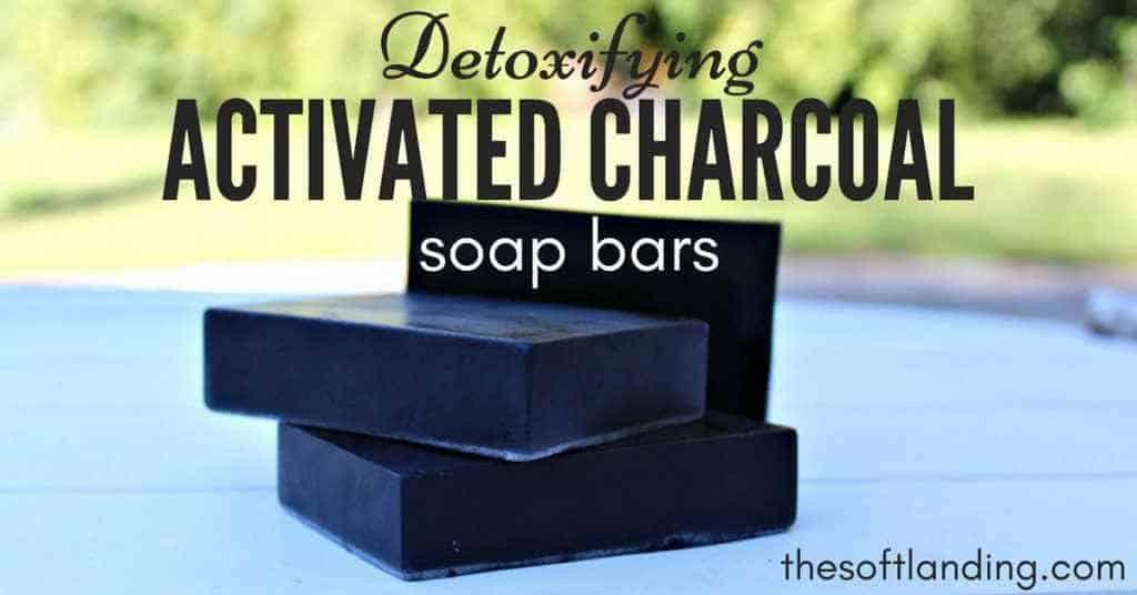 Charcoal soap bars