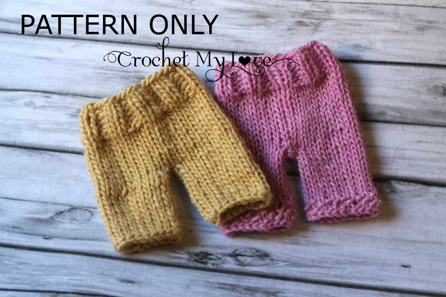 Simply Trendy Diy Knitted And Crochet Pants For Kids