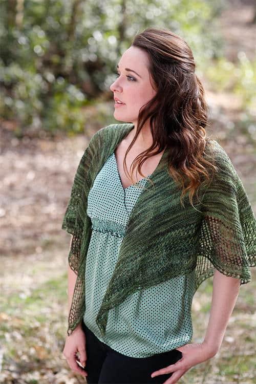 Filomena Lace shawl