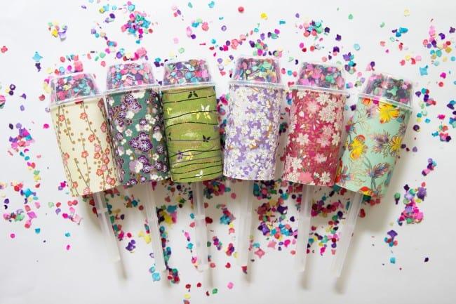 8 Fl Confetti Poppers