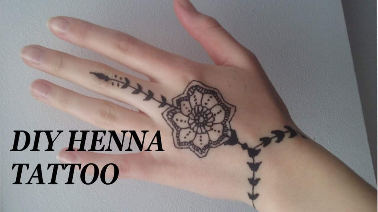 Henna Tattoo Hand Leicht Klein: 14 Pretty Henna Tattoo Patterns To Inspire You