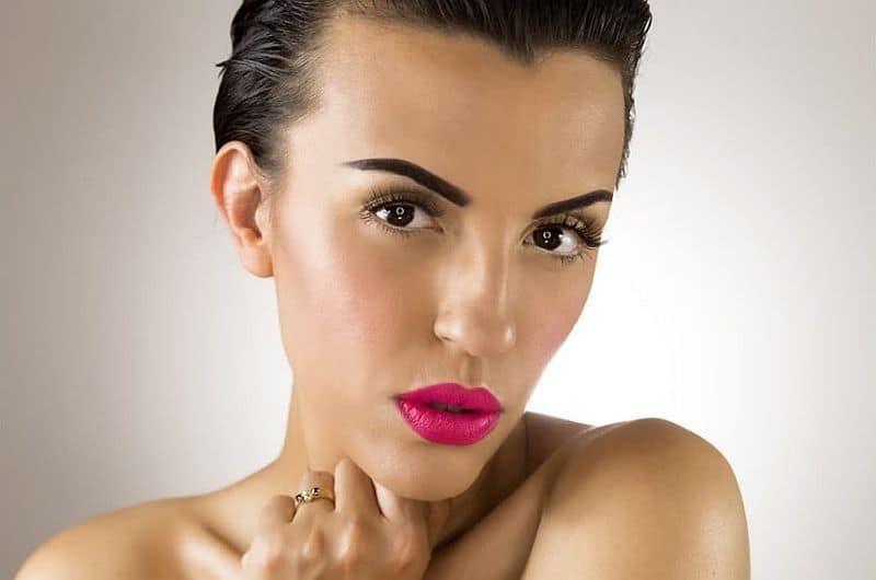Hot Pink Lips