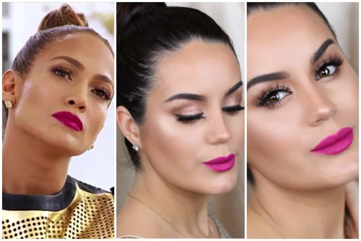 J-Lo pink lip