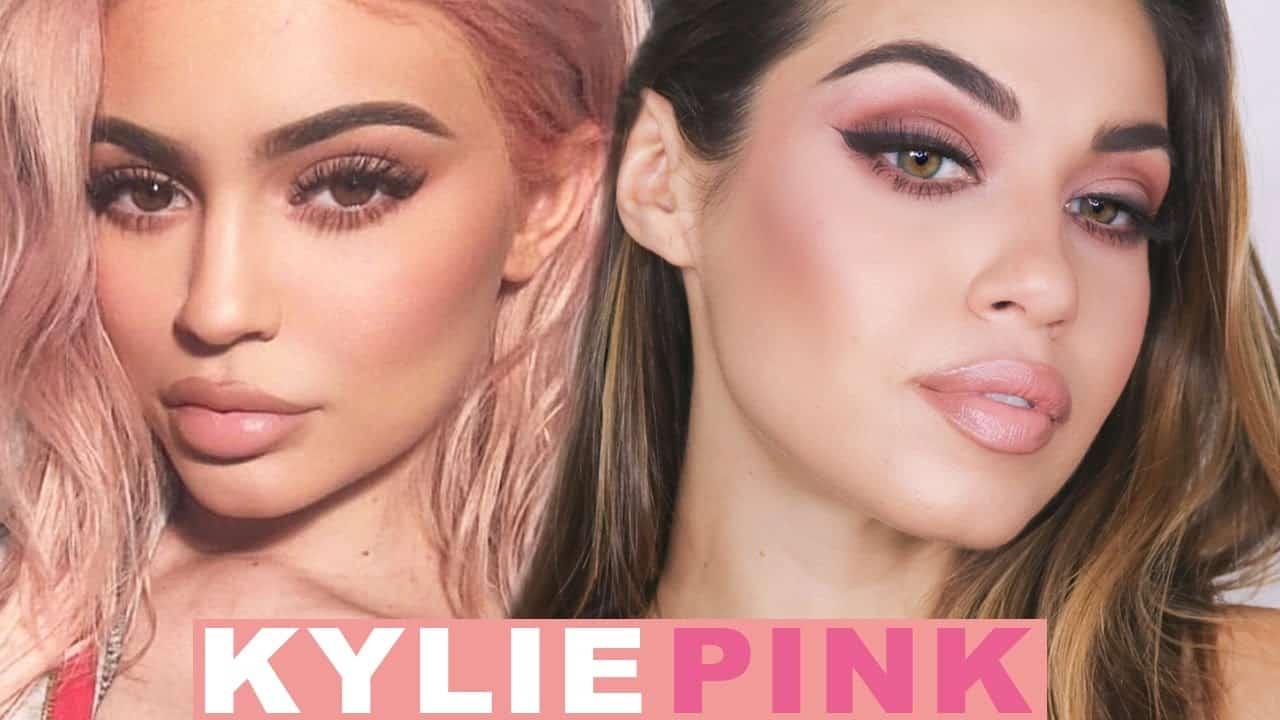 Kylie Jenner pink lip