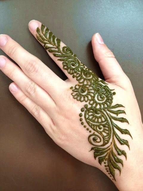 Leaf inspired patterns