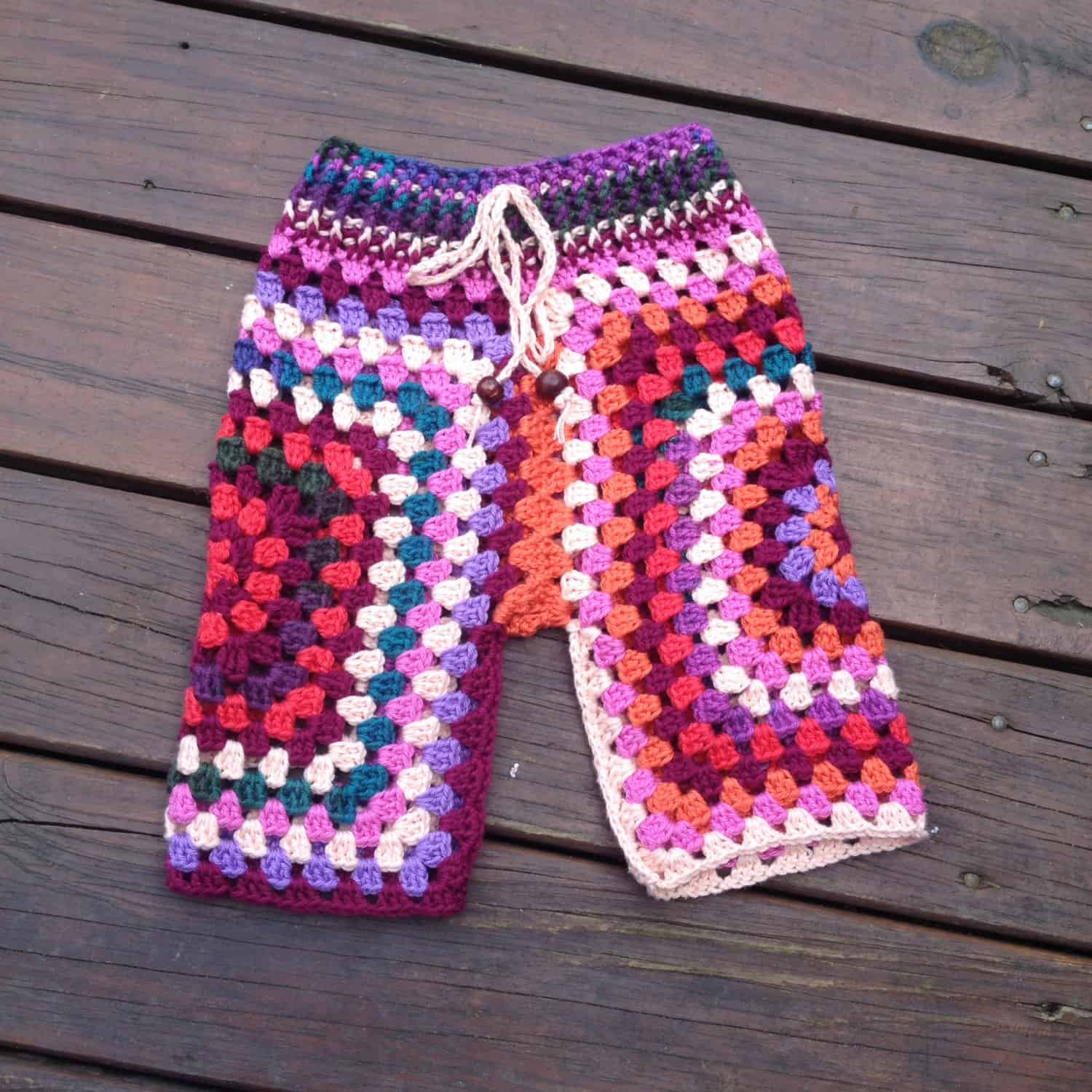 Simply Trendy: DIY Knitted and Crochet Pants for Kids