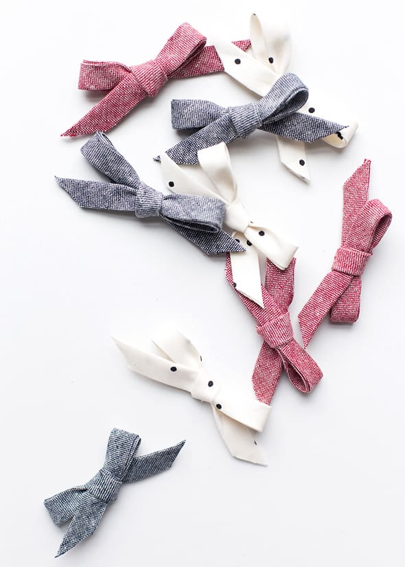 How to make hair clippies for babies