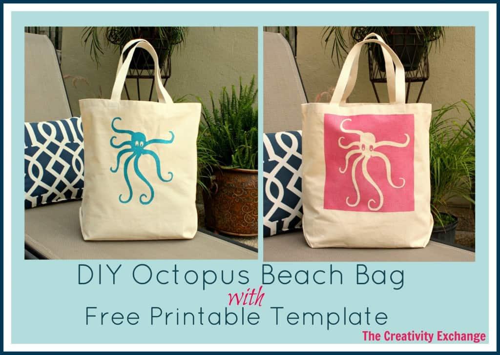 Octopus stencil bags