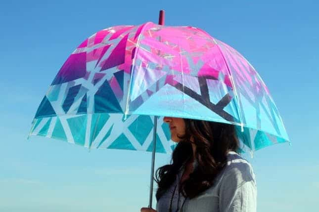 Ombre umbrella
