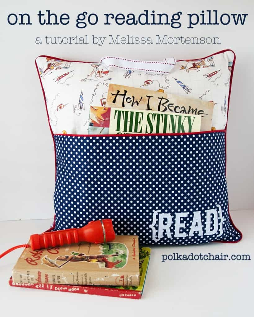On-the-go reading pillow