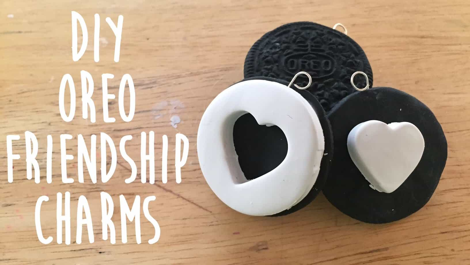 Oreo friendship charms