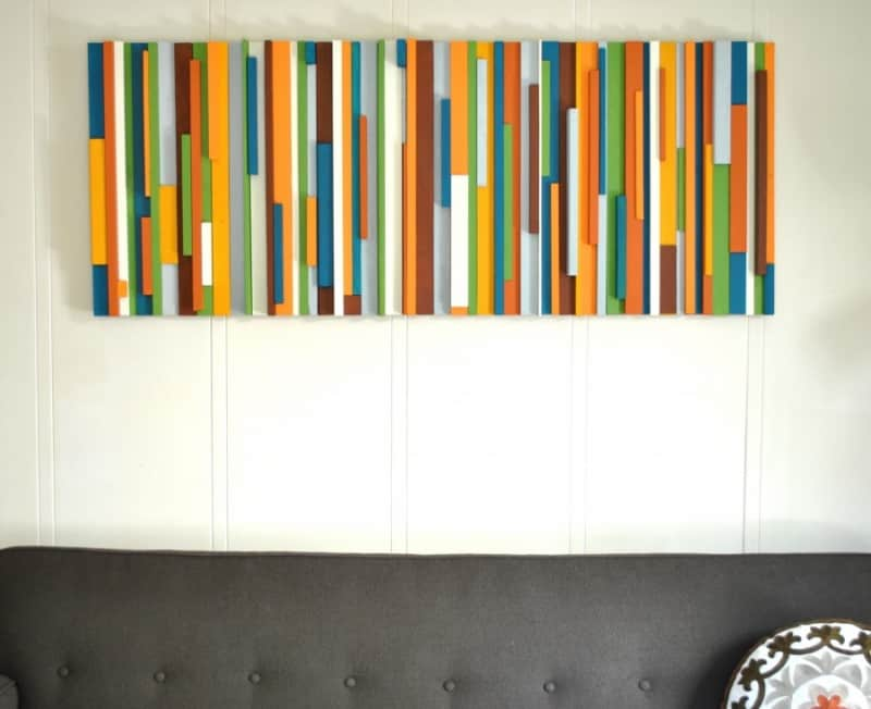 Artistic Upcycling 15 Diy Painted Wood Projects