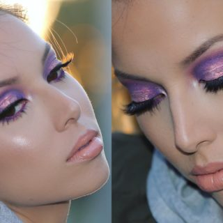 For Your Eyes: Gorgeous Makeup Looks Involving Purple