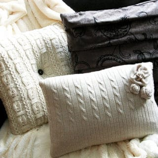 15 Plush and Cute DIY Throw Pillows Ideas