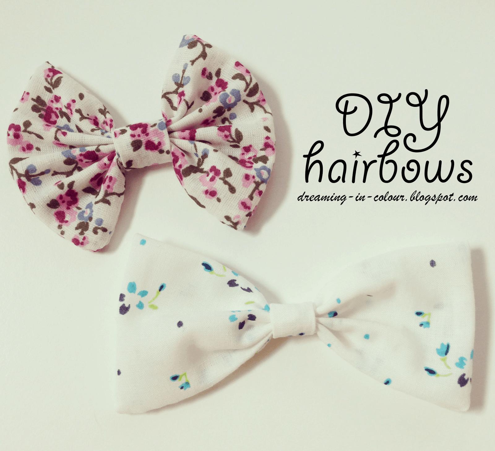 Vintage hair bows