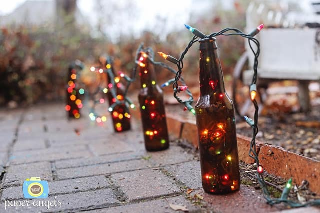 Homemade Sparkle 12 Awesome Diy Garden Light Ideas