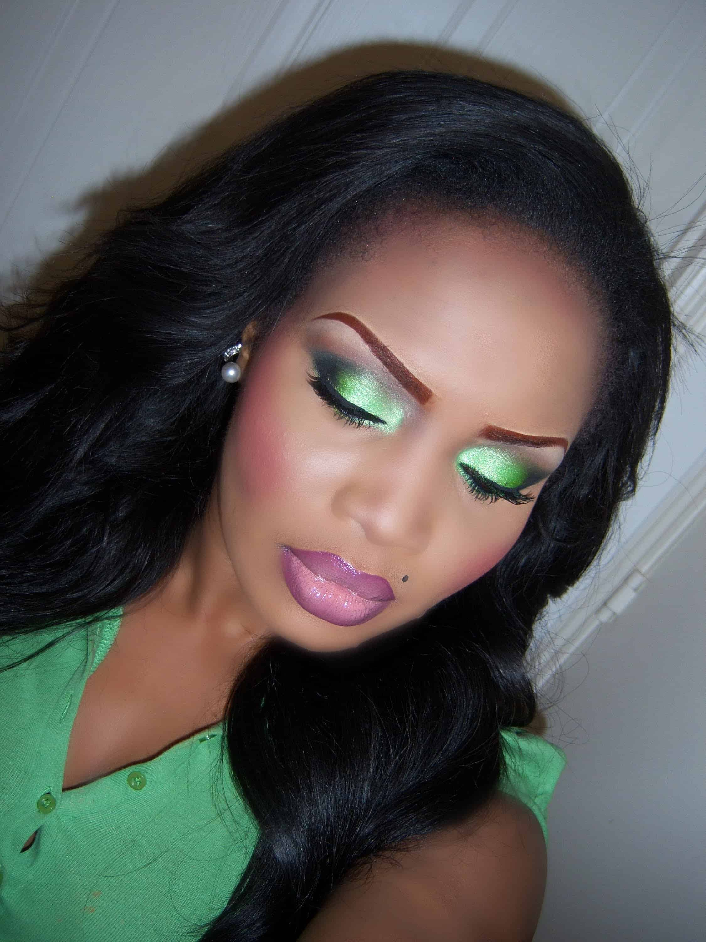Inspired By Nature Gorgeous Makeup Looks For Those Who Love Green