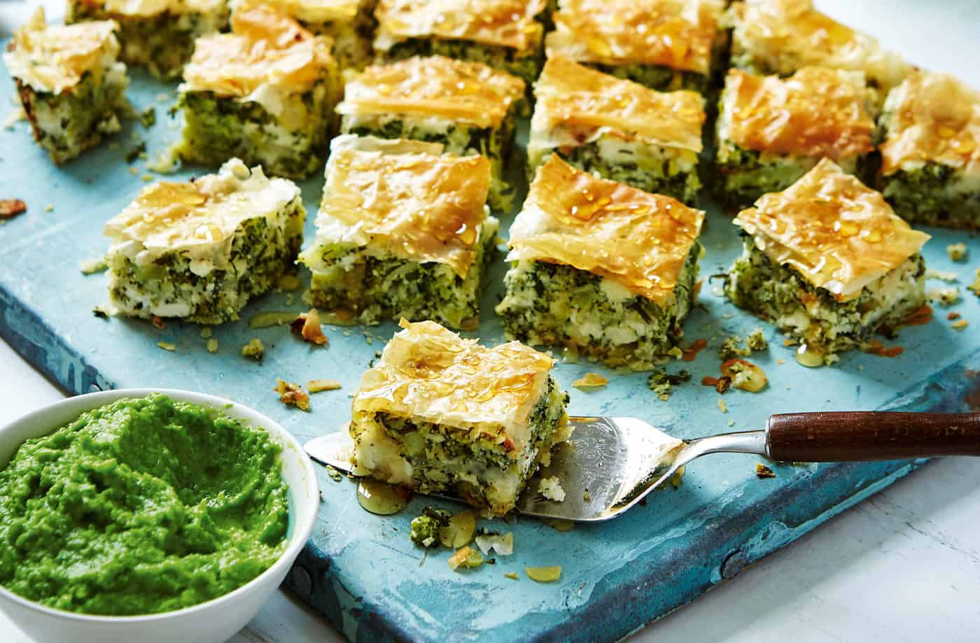 Healthy and tasty 13 delicious recipes for broccoli enthusiasts 4 broccoli feta baklava forumfinder Image collections
