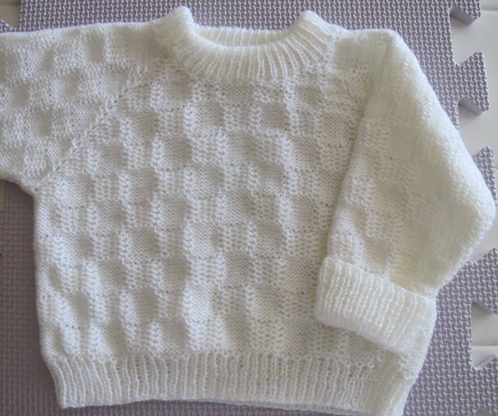 Getting Ready for Winter: Pretty Knitted Baby Sweater Patterns