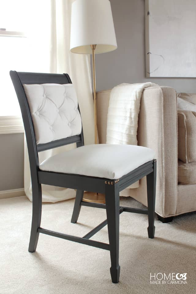 Chic monochrome chair