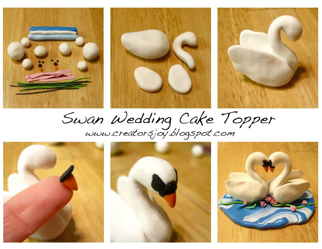 Simply Adorable: DIY Wedding Cake Toppers
